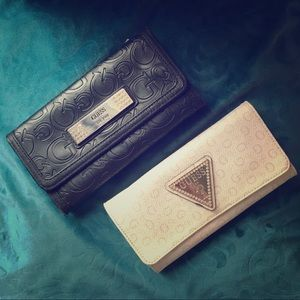 Set of TWO wallets from Guess